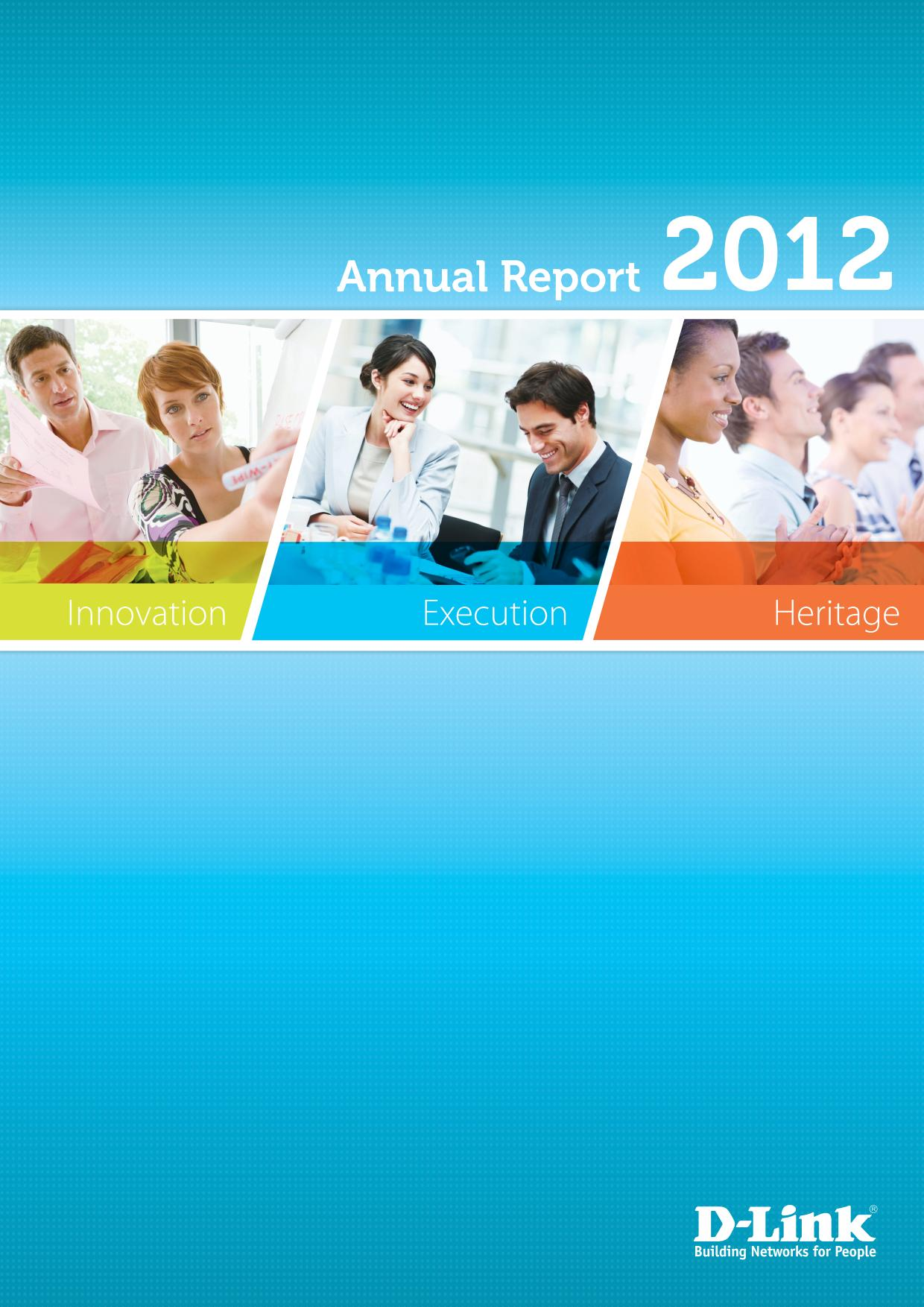 d link investor relations year 2012 2012 annual report